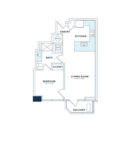 Floor Plans | Apartments in Dallas | Victory Place Apartments